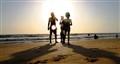 Silhouette image, Candolim Beach, Goa