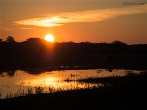 ondergaande zon spiegeling2