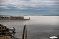 Taken from my apartment on the Hudson River adjacent to the Ossining Metro North Train Station
