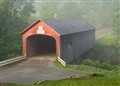 Covered Bridge/Misty Morning