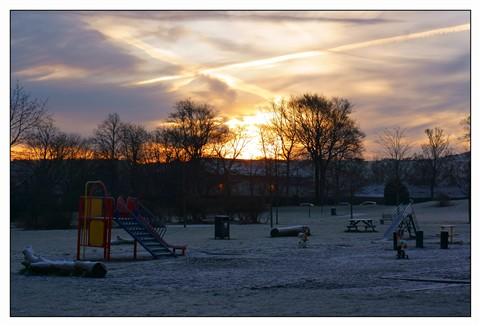 Playground Sunrise