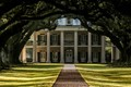 Oak Alley Plantation December morning