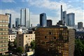 """Mainhattan"" in Frankfurt am Main, Germany."
