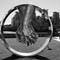 Sculpture at Vauxhall bridge