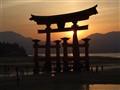 Myajima sunset, Japan