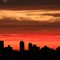 A dawn in Sao Paulo - Brazil