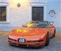 A red Corvette