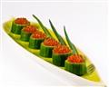 Caviar in a cucumber