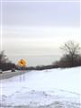 open road - illinois winter
