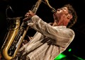 Mr.Sax Gordon perfoming Funk