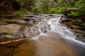 Jamison Creek before it flows over Wentworth Falls (20sec exposure)