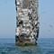 monolith in the water