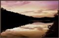 Dusk River & Dog