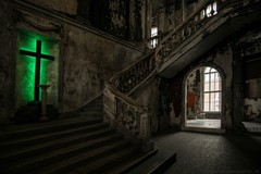 The green cross staircase