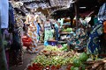 The Gambia / In the Basse market