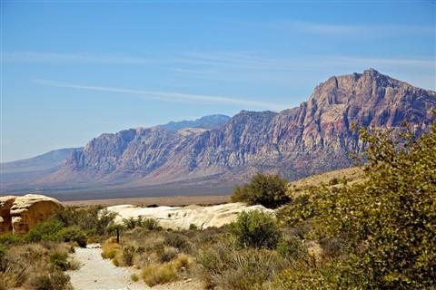 Mountains North of Las Vegas
