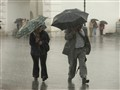 People under rain