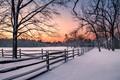 Batsto Village Sunrise