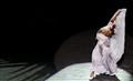 Mexican Dancer in Spotlight
