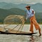 Burmese Fisherman on Lake Inle