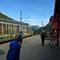 railway station, at Mydahl, Norway: