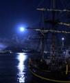 Pirates under Full Moon