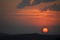 Sunset over Maseru, Lesotho