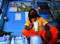 Baba at Tea Stall