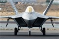 F-22 Raptor coming home