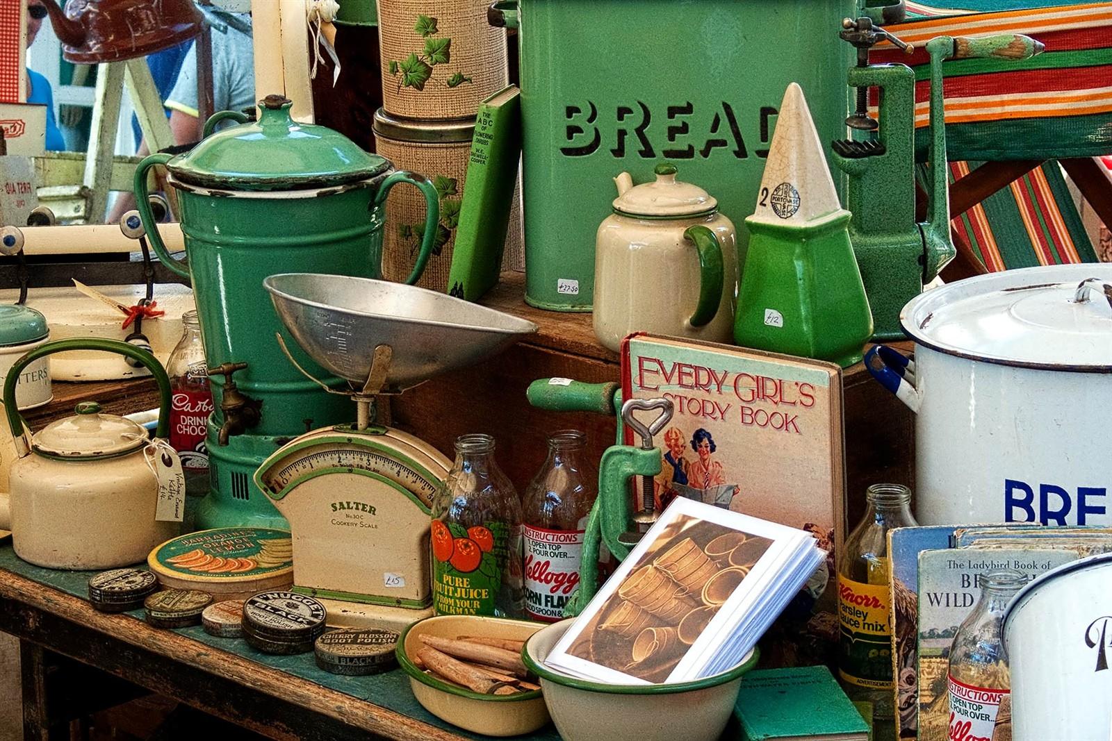 Vintage kitchenware - Captured