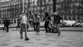 Paris street dancers