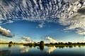 Summer skies over the Okavango River
