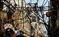 Power wiring at New Delhi