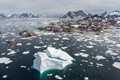 East Greenland, from Helicopter