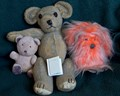 A very old and cherished Teddy and friends!