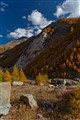 Autumn in Val Veni Italy