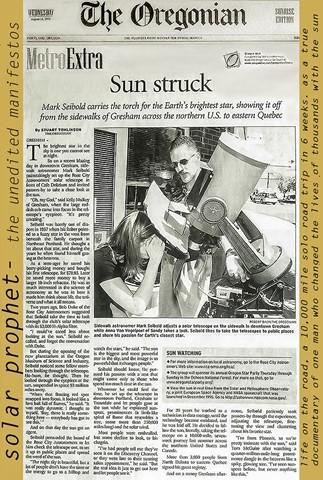 OregonianAug15_2001FORWEB_300DPICreateSpace_MarkSeiboldInNews_MarkSeiboldDotCom_MarksCosmicLight_FullPagePaperWithMasthead_SolarProphetBookCover