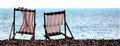 RED DECKCHAIRS