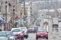 Franklin Street Snow Squall