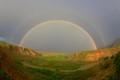 Double Rainbow, Abiquiu, NM, USA