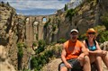 Aaron & Nancy in Ronda 7-2-12