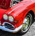 62 Corvette  Driver Fender