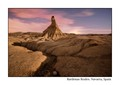 Bardenas Reales under the full Moon