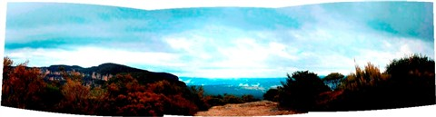 narrow neck panorama