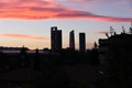 Madrid - Castellana Norte Sunset
