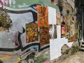Wall of Valparaiso street