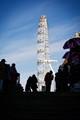 London Eye at noon