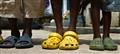 Vieilles sandales