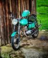 Old Russian Motorbike
