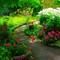 Stevenson House Garden #2 ©2008 Derek Dean
